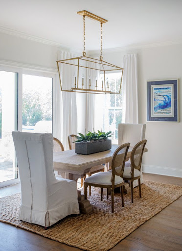 Choosing location - dining room lighting