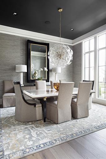 Unique dining room light fixture