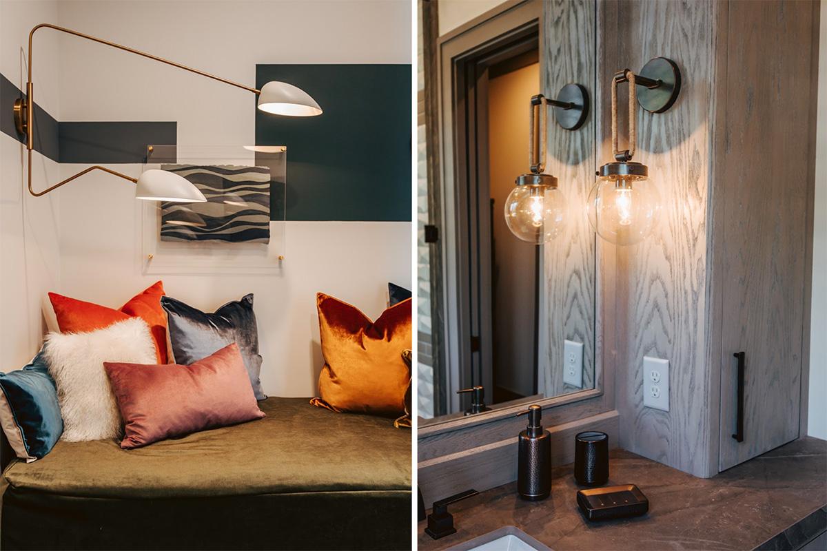Lighting trend - retro and industrial indoor lighting