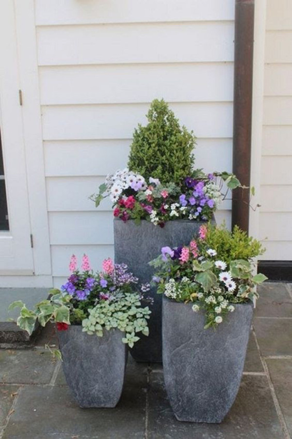 how to refresh your spring patio - outdoor plants