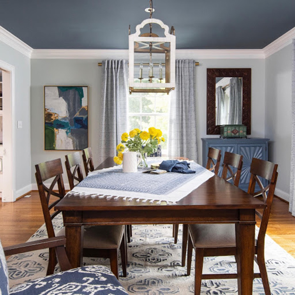 Country Dining Room Lighting - Hosting