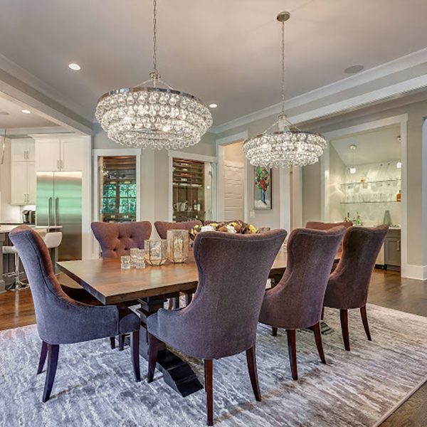 Dining Room Chandeliers - Hosting