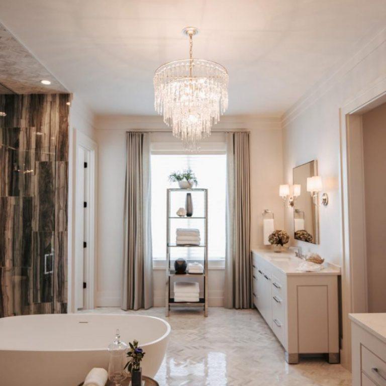 bathroom lighting glass hanging chandelier